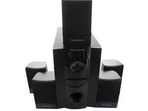 Theater Solutions TS511 5.1CH Multimedia Home Theater Surround Sound Speaker System