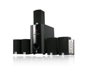 MA Audio MA5137 Surround Sound 700W 5.1 Home Theater Multimedia Speaker System with 2 Extension Cables MA5137-2