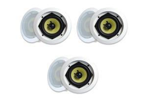MA Audio Synergy Series 52iC In Wall In Ceiling Speakers 840 Watts Home Theater 3 Pair Pack 52iC-3Pr