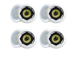 MA Audio Synergy Series 52iC In Wall In Ceiling Speakers 1120 Watts Home Theater 4 Pair Pack 52iC-4Pr