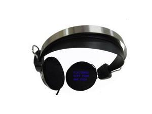 Frisby Headphone Headset for Computer PC Desktop Notebook Laptop with Microphone
