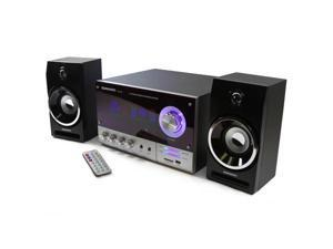 DR-S10 DURHERM 2.1 Channel Karaoke Woofer Speaker System w/ Remote LED Equalizer