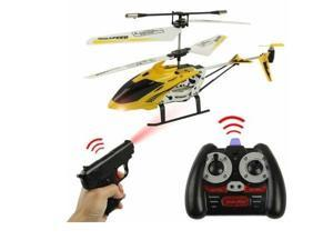 DH825 - 3.5ch RC Toy Missile Commander Gun Shooting RC Helicopter w/ Gyro