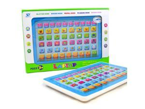 Ypad Tablet Learning Education English Computer Touch Children Toy Machine Blue