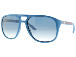 Gucci 1018/S Sunglasses (In Color-Blue/dark blue gradient)