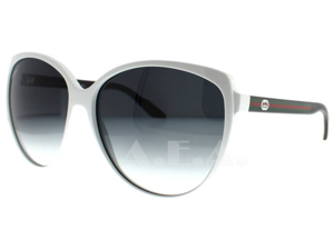 Gucci 3162/S Sunglasses-In Color-White Black/gray gradient