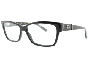 Gucci GG 3559 L73 Black W/ Crystals Eyeglasses 53mm