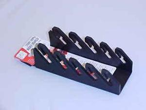 ERNST Mfg 5071 Black 5 STUBBY Wrench Organizer