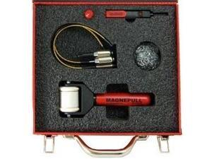MAGNEPULL XP1000-DMC-4 Pro Kit Wire Fishing System w/ MagneSpot + 3 Magnets in Red Metal Case