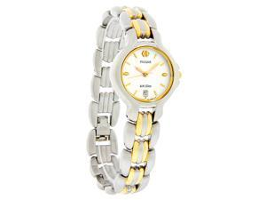 Pulsar Ladies 2Tone Silver Quartz Watch PXQ135
