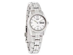 Citizen Quartz Ladies Day/Date Silver Dial Stainless Steel Watch EQ0540-57A
