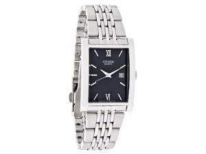 Citizen Mens Date Black Dial Quartz Watch BH1370-51E