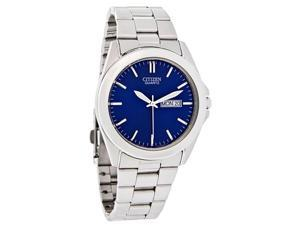 Citizen Quartz Mens Blue Day/Date Watch BF0580-57L New