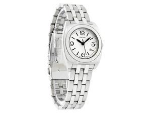 Pulsar Ladies Europa Silver Dial Stainless Steel Quartz Watch PXQ495