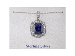 B. Brilliant Sterling Silver 925 Purple Cubic Zirconia Button Pendant Necklace
