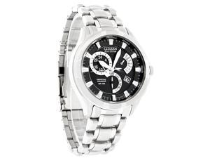 Citizen Eco-Drive Calibre 8700 Perpetual Calendar Black Dial Men's Watch BL8090-51E