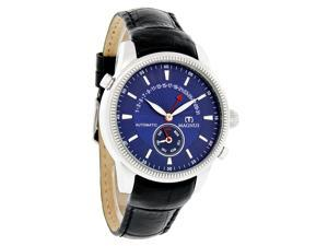 Magnus San Marino Mens Leather Auto Watch M102msb41