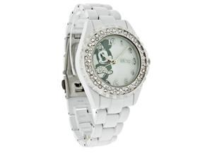 Disney Minnie Mouse Ladies White Bracelet Quartz Watch MN2037