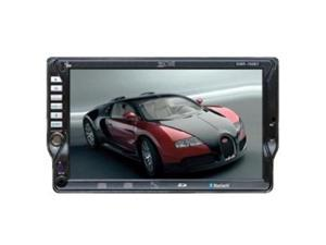 Absolute DMR-760BT In-Dash 7-Inch Monitor with DVD, CD, MP3 Receiver with Built-in Bluetooth, Front Panel USB and Aux-in