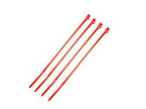 Absolute CT6100R 6-Inch Cable Tie - 100 Pieces (Red)