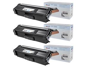 LD © Compatible Brother Black TN315 Set of 3 Toner Cartridges for use in HL-4150cdn, HL4570cdw, HL-4570cdwt, MFC-9460cdn, ...