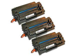 LD © Remanufactured Replacements for Hewlett Packard Q6511X (HP 11X) 3PK HY Black Laser Toner Cartridges for use in HP LaserJet ...