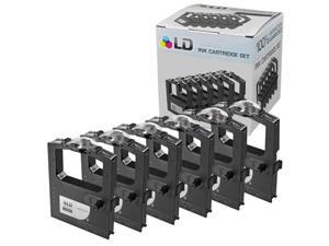 LD © Okidata Compatible Replacement 6 Pack Black Printer Ribbon Cartridges - 52102001