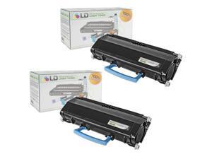 LD © Compatible Lexmark E260A11A Set of 2 Black Laser Toner Cartridges