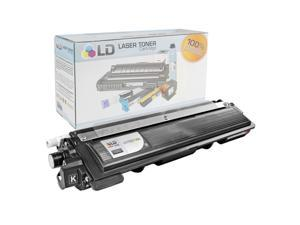 LD © Compatible Replacement for Brother TN210BK Black Laser Toner Cartridge for use in Brother DCP, HL, & MFC Printer Series