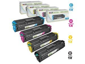 LD Compatible Replacements for Samsung CLT-504 Set of 4 Laser Toner Cartridges: 1 CLT-K504S, 1 CLT-C504S, 1 CLT-M504S, & ...