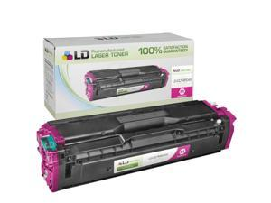 LD © Compatible Replacement for Samsung CLT-M504S Magenta Laser Toner Cartridge for use in Samsung CLP-415NW, CLX-4195FN, ...