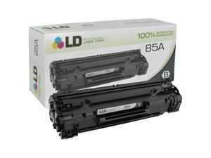 LD © Remanufactured Replacement Laser Toner Cartridge for Hewlett Packard CE285A (HP 85A) Black for use in the Laserjet Pro ...