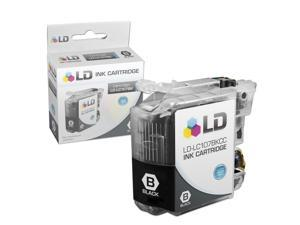 LD © Brother Compatible LC107BK Super High Yield Black Ink Cartridge for use in MFC-J4310DW, MFC-J4410DW, MFC-J4510DW, MFC-4610DW ...