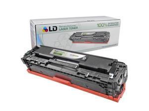 LD © Remanufactured Replacement Laser Toner Cartridge for Hewlett Packard CB540A (HP 125A) Black