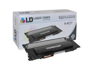 LD © Compatible Replacement for Samsung CLT-K407S Black Laser Toner Cartridge for use in Samsung CLP 320, 320N, 321N, 325, ...