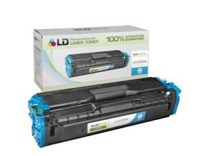 LD © Compatible Replacement for Samsung CLT-C504S Cyan Laser Toner Cartridge for use in Samsung CLP-415NW, CLX-4195FN, CLX-4195FW, ...
