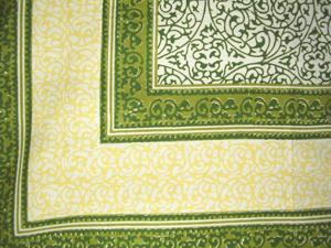 Persian Filigree Tapestry Tablecloth Many Decor Uses