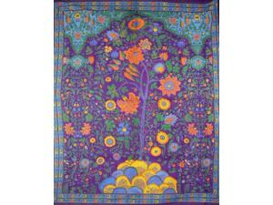 Tree of Life Tapestry Coverlet Spread Unique Home Decor