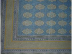 Kensington Tapestry Block Print Spread Coverlet Queen