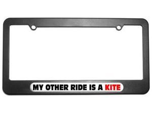 My Other Ride Is A Kite License Plate Tag Frame