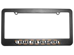 I Brake For Tailgaters License Plate Tag Frame