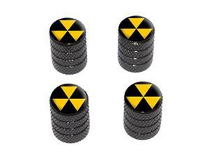 Fallout Shelter - Tire Rim Wheel Valve Stem Caps - Black