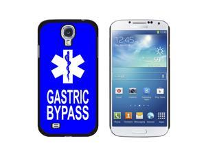 Gastric Bypass - Medical Emergency - Star of Life - Snap On Hard Protective Case for Samsung Galaxy S4 - Black
