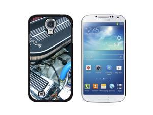 Classic Muscle Car Engine Compartment - Snap On Hard Protective Case for Samsung Galaxy S4 - Black