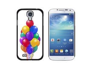 Bunch of Party Balloons - Birthday - Snap On Hard Protective Case for Samsung Galaxy S4 - Black