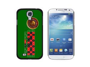 Roulette Wheel Table - Gambling - Snap On Hard Protective Case for Samsung Galaxy S4 - Black