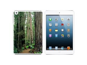 Redwood National Park CA Snap On Hard Protective Case for Apple iPad Mini - White