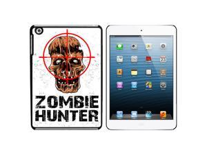 Zombie Hunter - Hunting Response Biohazard Snap On Hard Protective Case for Apple iPad Mini - Black - OEM
