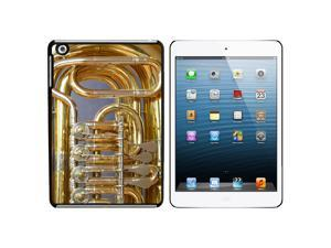 Brass Musical Instrument - Music Snap On Hard Protective Case for Apple iPad Mini - Black