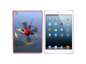 World War 2 II Fighter Plane Aircraft Snap On Hard Protective Case for Apple iPad Mini - Pink